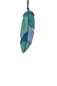 Mtn Made Studio Feather A Stained Glass