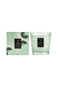 Voluspa 2 Wick Candle in White Cypress