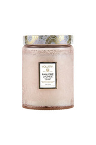 Voluspa Large Glass Jar Candle in Panjoree Lyche