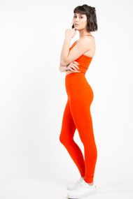 Girlfriend Collective High Rise Legging in Daybreak