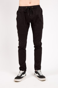 KuwallaTee Chino Trouser 2.0 in Black