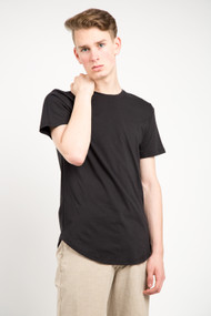 KuwallaTee Scoop Tee in Black