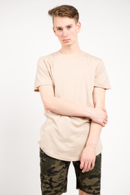 KuwallaTee Scoop Tee in Oxford Tan
