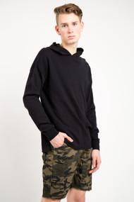 KuwallaTee Knit Hood in Black
