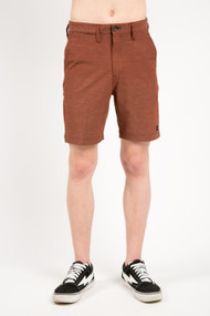 Billabong Crossfire X Mid Short in Rust