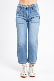 Silver Jeans Utility Straight Leg in Indigo