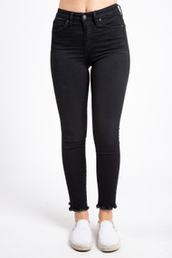 Silver Jeans Isbister Ankle Skinny in Black