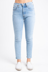 Levi's 501 High Rise Skinny in Tango Light