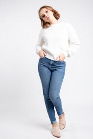 Minimum Mikala Sweater in Broken White