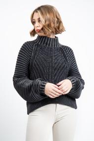 Free People Sweetheart Sweater in Black