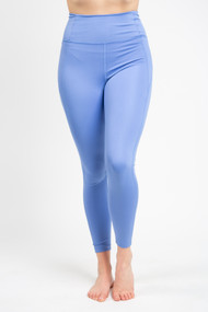 Girlfriend Collective High Rise Legging in Periwinkle