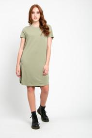 Minimum Larah Dress in Oil Green