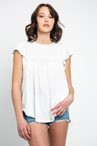 Gentle Fawn Brittania Top in White