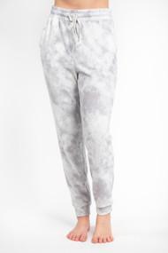 Gentle Fawn Dolce Jogger in Grey Tie Dye
