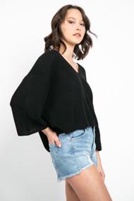 Gentle Fawn Nino Sweater in Black