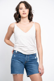 Gentle Fawn Carr Tank in Heather Taupe