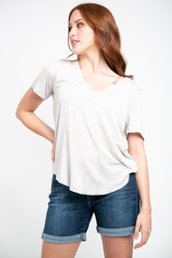 Gentle Fawn Lewis Tee in Heather Taupe