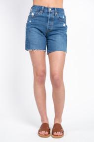 Levi's 501 Mid Thigh Short in Charleston Picks
