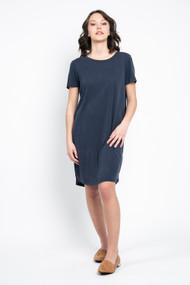 Minimum Larah Dress in Navy Blazer