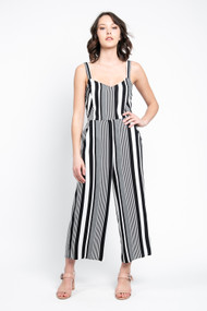 Saltwater Luxe Tie Back Jumpsuit Ivory