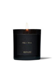 Brand & Iron Oak + Moss Candle