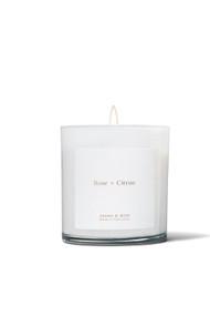 Brand & Iron Rose + Citrus Candle