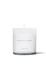 Brand & Iron Sandalwood + Lavender Candle