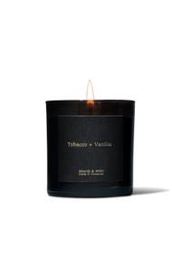 Brand & Iron Tobacco + Vanilla Candle