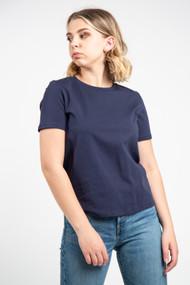 Minimum Kimma Tee in Navy Blazer
