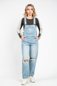 Levi's High Vintage Overall in Bright Light