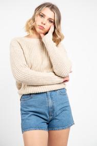 Minimum Milania Sweater in Apple Cinnamon Melange