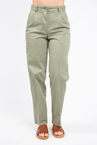 Minimum Stino Pant in Oil Green