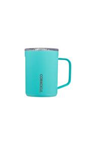 Corkcicle 16oz Mug in Gloss Turquoise