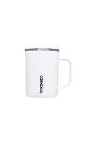 Corkcicle 16oz Mug in Gloss White