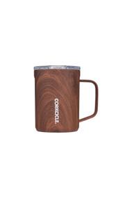 Corkcicle 16oz Mug in Walnut Wood