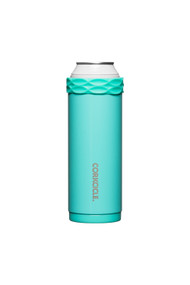 Corkcicle Slim Arctican in Gloss Turquoise
