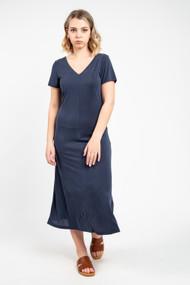 Minimum Siah Midi Dress in Navy Blazer