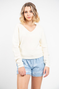 Minimum Stinea Sweater in Broken White
