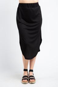 Jackson Rowe Link Skirt in Black