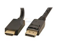 6FT Display Port to HDMi Cable-Techcraft