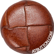 Hand Woven Genuine Leather Button Style #138