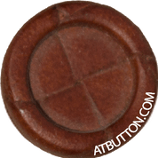 Hand Woven Genuine Leather Button Style #139