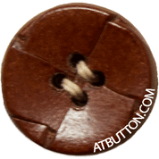 Hand Woven Genuine Leather Buttons Style #141