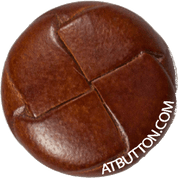 Hand Woven Genuine Leather Button Style #146