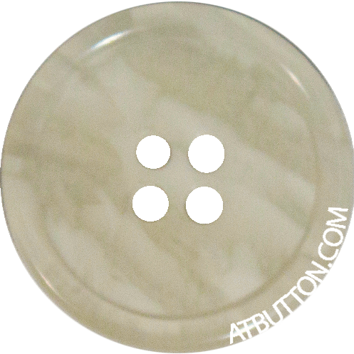 K1100 34mm x 4 Large Grey Marbled Round Buttons