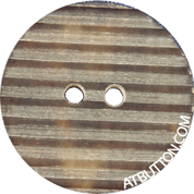 Two Hole Striped Texture Plastic Button Style#108