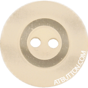 Two Hole Beige Plastic Button Style#123