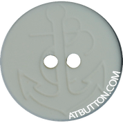 Two Hole Anchor Design Plastic Button Style#166