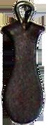 Unique Shape Leather Zipper Pull Style#180