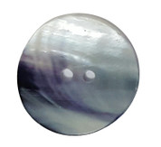 Rare Blue Mussel Shell Button Style#189